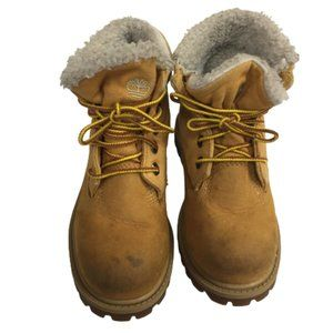 Timberland Boys Size 12 Yellow Boots